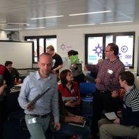 Photo taken at Future Classroom Lab (at European Schoolnet) by Kurt K. on 3/6/2014