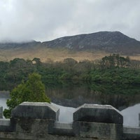 Photo taken at Kylemore Abbey by Sharon M. on 4/3/2016