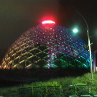 Photo taken at Mitchell Park Horticultural Conservatory (The Domes) by Rochelle F. on 12/7/2012