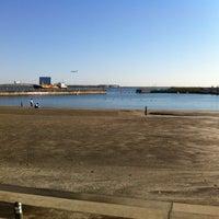 Photo taken at 東扇島東公園 by Shinya F. on 10/26/2013