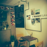 Photo taken at Man's Waffle by HM .. on 10/3/2014