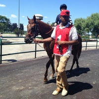Photo taken at Woodbine Racetrack by Stephanie F. on 7/13/2013