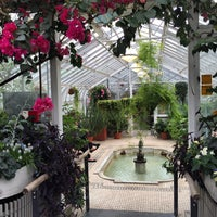 Photo taken at Westmount Greenhouse by Claire D. on 4/21/2015