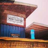 Photo taken at Moon Tower Inn by chris v. on 7/27/2013