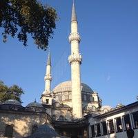 Photo taken at Eyüp Sultan Mosque by Yavuz Ç. on 7/27/2013