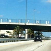 Photo taken at Orlando Sign by Pamela D. on 2/3/2013