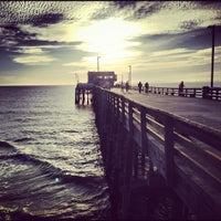 Photo taken at Newport Pier by Sean C. F. on 12/29/2012