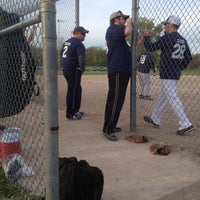 Photo taken at Red Coats Softball Complex by Victoria M. on 5/14/2013