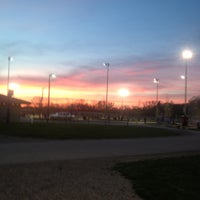 Photo taken at Red Coats Softball Complex by Victoria M. on 5/7/2013