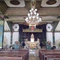 Photo taken at Gereja dan Candi Hati Kudus Tuhan Yesus Ganjuran by Ruby C. on 7/26/2013