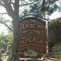 Photo taken at Rancho del Zocalo Restaurante by Lorena M. on 7/10/2013