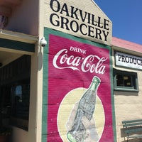 Photo taken at Oakville Grocery Co. by Lorena M. on 6/8/2013