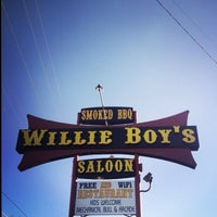 Photo taken at Willie Boys Saloon by Christina on 6/4/2014