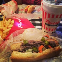 Photo taken at Portillo's Hot Dogs by Charlie M. on 7/12/2015