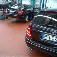 Photo taken at Mercedes-Benz Service by der kaess on 9/18/2012