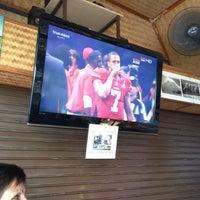 Photo taken at Duke's Sports Bar @ Kata Beach by Andrea P. on 2/4/2013
