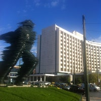 Photo taken at Hilton Athens by Geoff D. on 12/12/2012