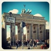 Photo taken at Pariser Platz by Anka K. on 10/28/2012