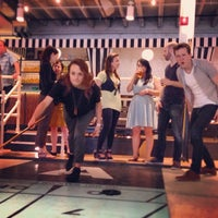 Photo taken at The Royal Palms Shuffleboard Club by Tommi F. on 5/10/2014