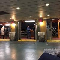 Photo taken at Staten Island Ferry Boat - John J. Marchi by Gary K. on 4/11/2017