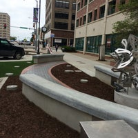 Photo taken at Downtown Topeka by Michael S. on 4/22/2016