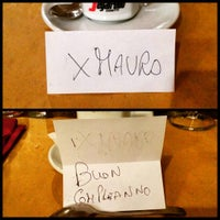 Photo taken at Trebbi Trattoria by Mauro M. on 11/15/2015