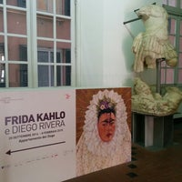 Photo taken at mostra Frida Kahlo by Mauro M. on 1/7/2015