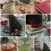 Photo taken at Aftab Café | کافه کتاب آفتاب by Parisa P. on 12/22/2014