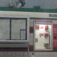 Photo taken at Metro Irarrázaval by Nat V. on 1/23/2013