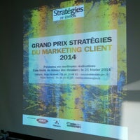 Photo taken at Stratégies by Bertrand J. on 3/13/2014