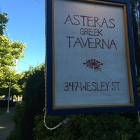 Photo taken at Asteras Greek Taverna by Stevy T. on 8/11/2014