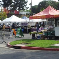 Photo taken at Crenshaw Farmers Market by Kali K. on 10/6/2012