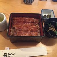 Photo taken at うな明 by Yuka F. on 10/24/2015