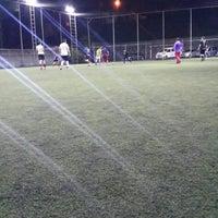 Photo taken at Cem Spor Tesisi by Beyza E. on 11/9/2014