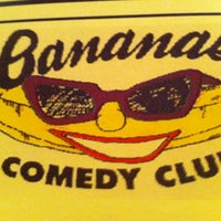 Photo taken at Banana's Comedy Club by mdl_412 on 9/29/2012