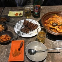 Photo taken at 두만강 샤브샤브 by Steven on 1/7/2018