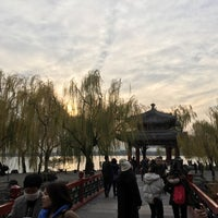 Photo taken at 十七孔桥 by Steven on 11/12/2017