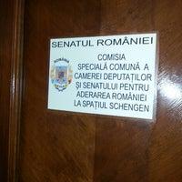 Photo taken at Comisia Specială Comună pentru Aderarea la Schengen by Laurenţiu P. on 3/3/2014