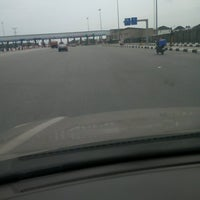 Photo taken at Conservation Toll Plaza by Omotunde D. on 8/17/2016