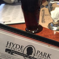 Photo taken at Hyde Park Brewing Co. by Christopher W. on 12/30/2016