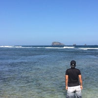 Photo taken at Pantai Candidasa by Pradhana A. on 6/27/2015