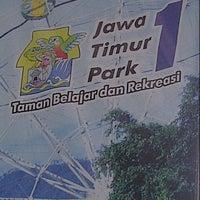 Photo taken at Jawa Timur Park 1 by Rani A. on 4/10/2013