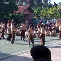 Photo taken at SDIT & SMPIT Miftahul Ulum Gandul by Fitria on 3/16/2013