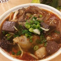 Photo taken at Pho So 1 by Jen H. on 9/22/2012