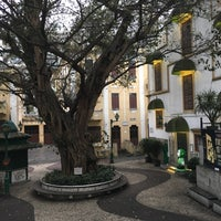 Photo taken at Largo do Lilau / Lilau Square 亞婆井前地 by Three L. on 3/18/2017