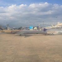 Photo taken at Thai Airways Flight TG 115 by pjkoo p. on 9/15/2012