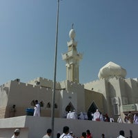 Photo taken at Jaraanah Mosque by AFFENDY on 5/13/2013