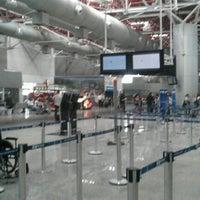 Photo taken at Aeroporto Internacional de São Luís / Marechal Cunha Machado (SLZ) by Ricardo A. on 9/26/2012
