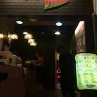 Photo taken at ร้านปังนมสด(รถตู้โฟล์คชมพู) by ddow on 6/8/2015