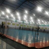Photo taken at Bagoes Futsal by Heru Pramono on 2/19/2016